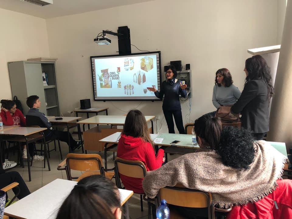 """""""Salute nelle scuole"""" – Spoleto 5/2/2019"""