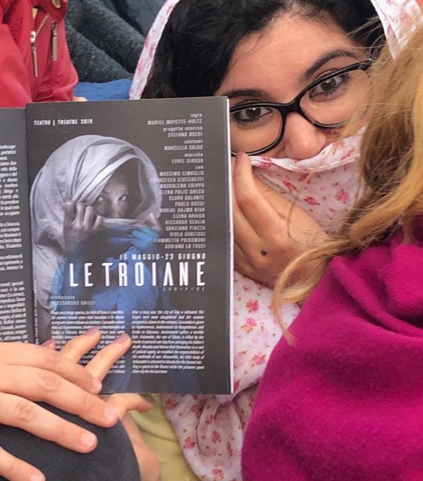 """""""Le Troiane"""" al Teatro Greco di Siracusa 1/6/2019"""